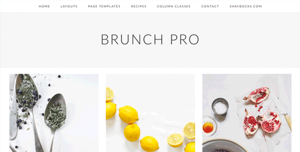 StudioPress Brunch Pro Genesis WordPress Theme Free Download