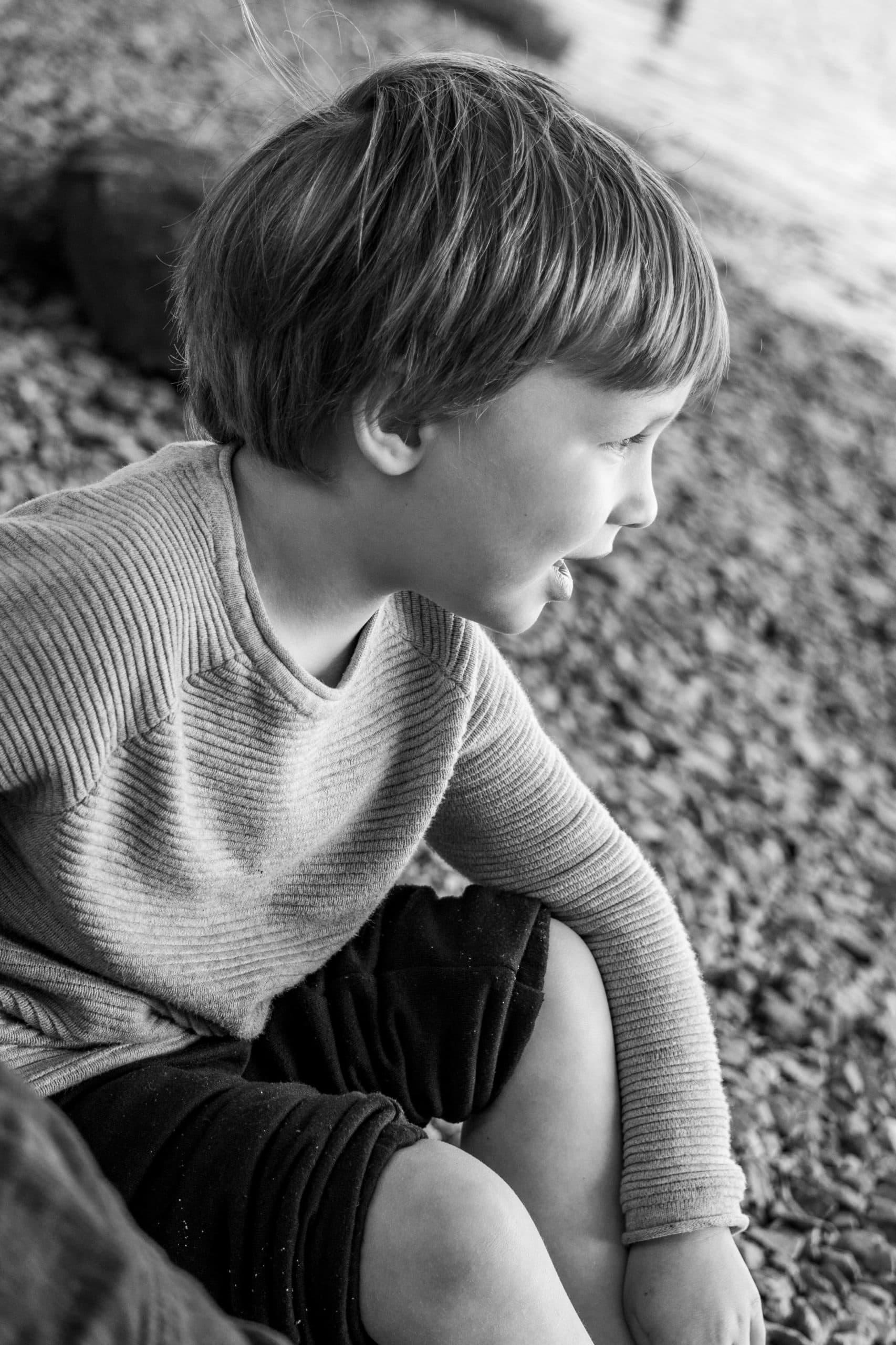 Black and White image of Jack