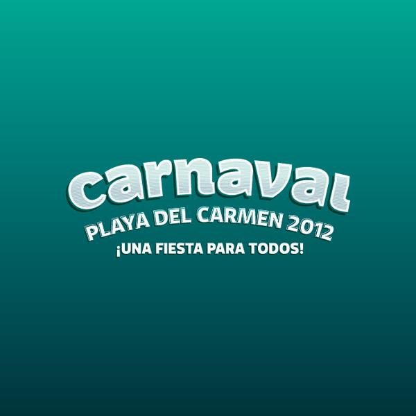 Carnaval 2012 Playa del Carmen - typo