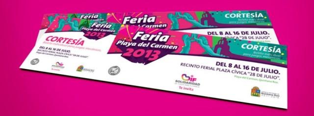 Feria Playa del Carmen 2013 - boletos