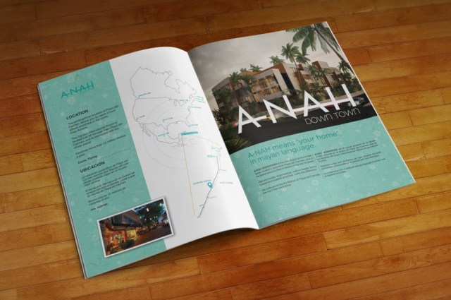 A-Nah Downtown - Brochure interior