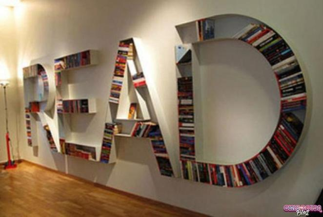 37 Innovative Bookshelf Designs - Girly Design Blog