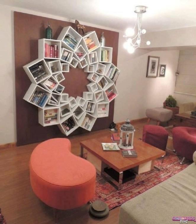 37 Innovative Bookshelf Designs - Girly Design Blog