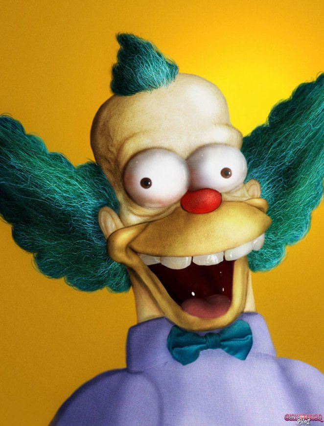 This is What The Simpsons Would Look Like in 3D - Girly Design Blog