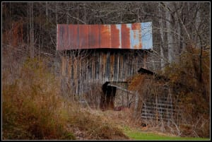 barn on Cullowhee, Glenville near Western Carolina University