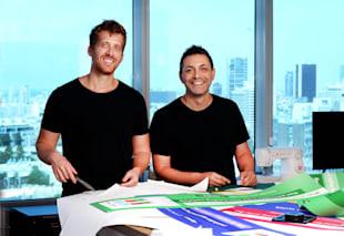 Eran Zinman and Roi Mann, founders of Monday / Photo: Eyal Yitzhar