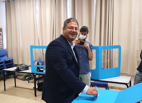 Itamar Ben Gvir Voter / Photo: Itamar Ben Gvir Spokeswoman