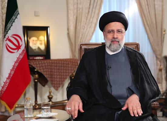 Le président iranien Ibrahim Raisi / Photo : Associated Press