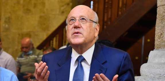 ראש ממשלת לבנון, נג'יב מיקאט / צילום: Associated Press, Dalati Nohra