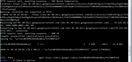 Upload File to Google Drive With Linux From Command Line