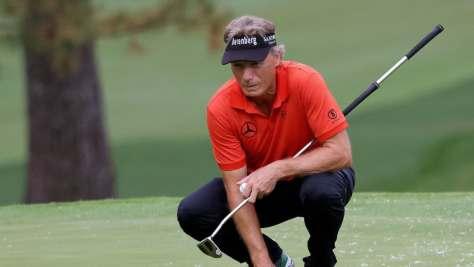 Bernhard Langer mit starkem Auftakt beim US Masters 2020. (Foto: Getty)