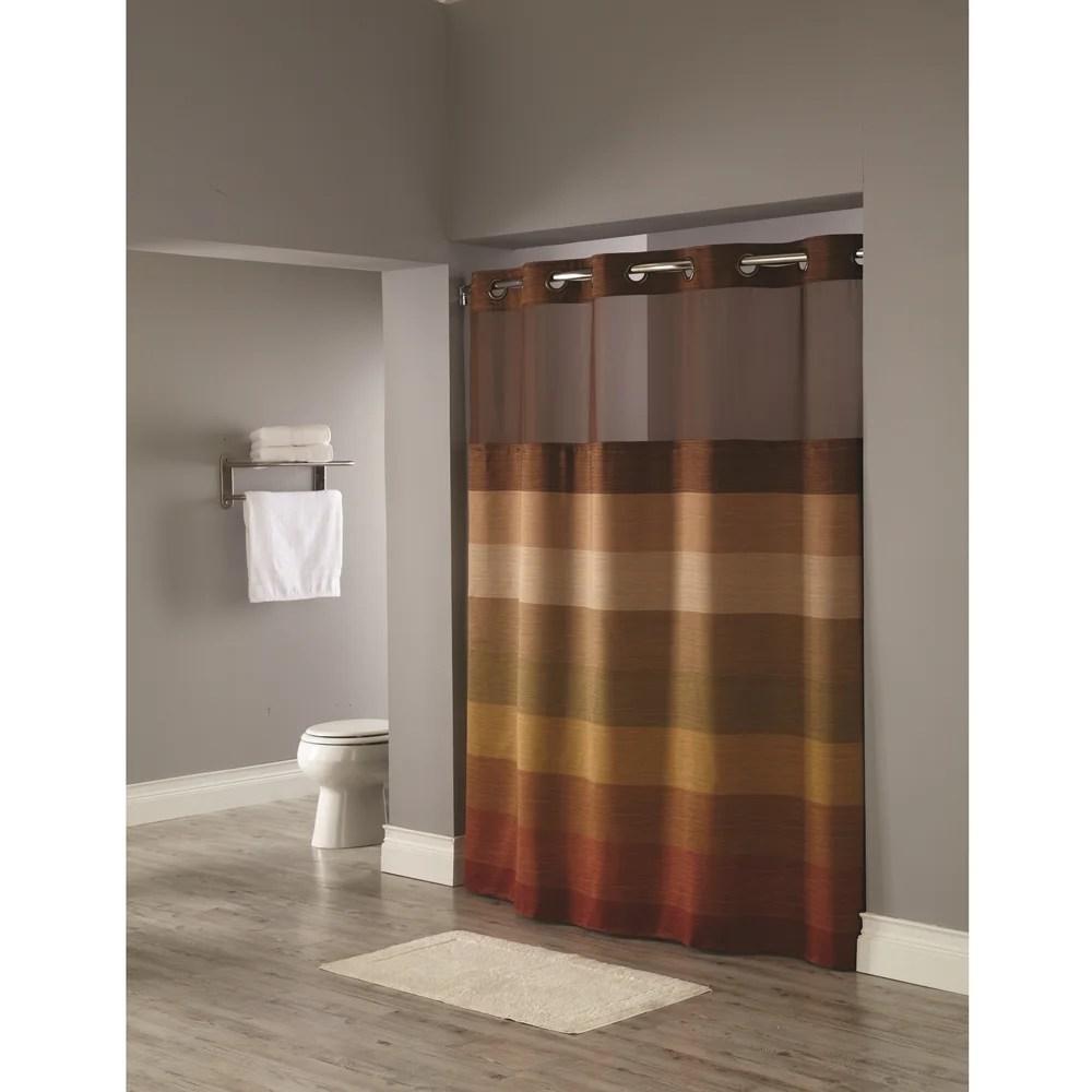 hookless stratus shower curtain