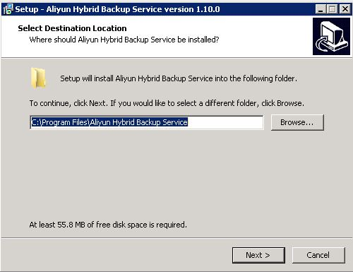 Hybrid Backup Recovery Install and activate a client