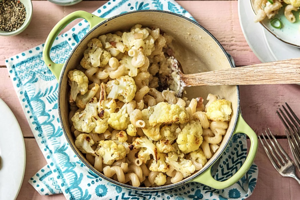 2017 Cauliflower-Pancetta-Mac-Cheese-year in review-HelloFresh-2017