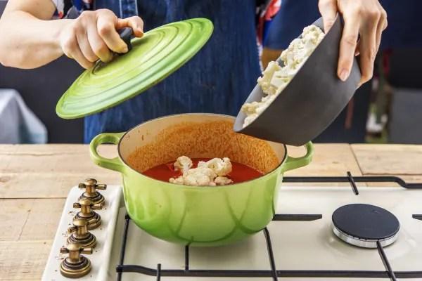Cook the cauliflower