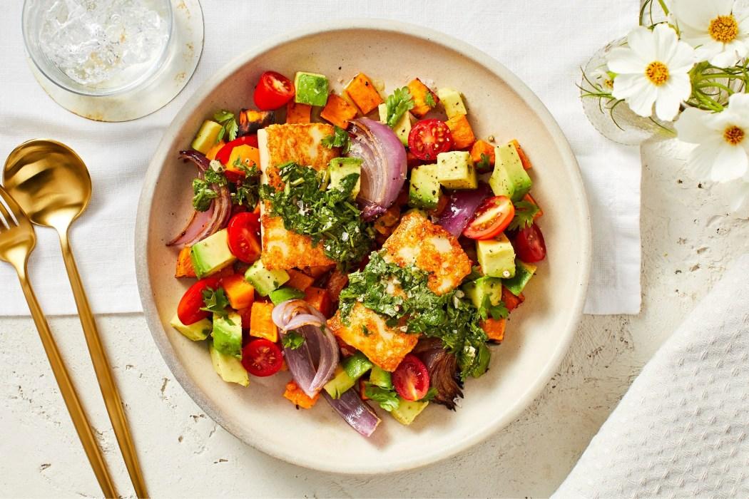 calorie smart-HelloFresh-Cheese-Veggie-Jumble