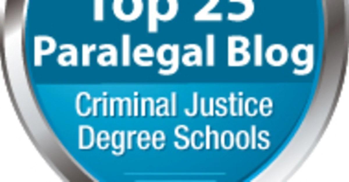 Top 25 Paralegal Blogs Best Paralegal Blogs