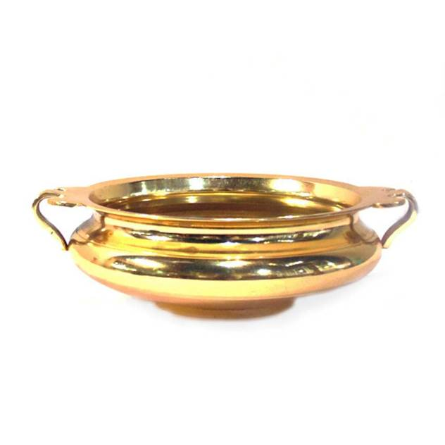 Gold Plated Brass Urli : Diwali home decoration ideas