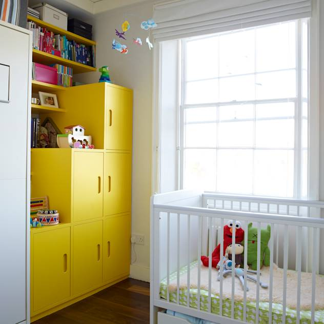 Nursery : Modern nursery/kids room by Collective Works