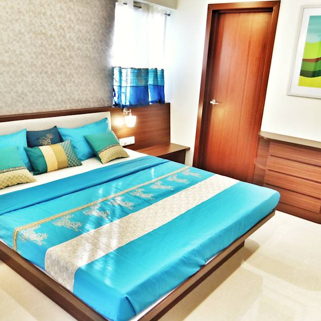 Diwali home decoration ideas : Colorful bedlinen