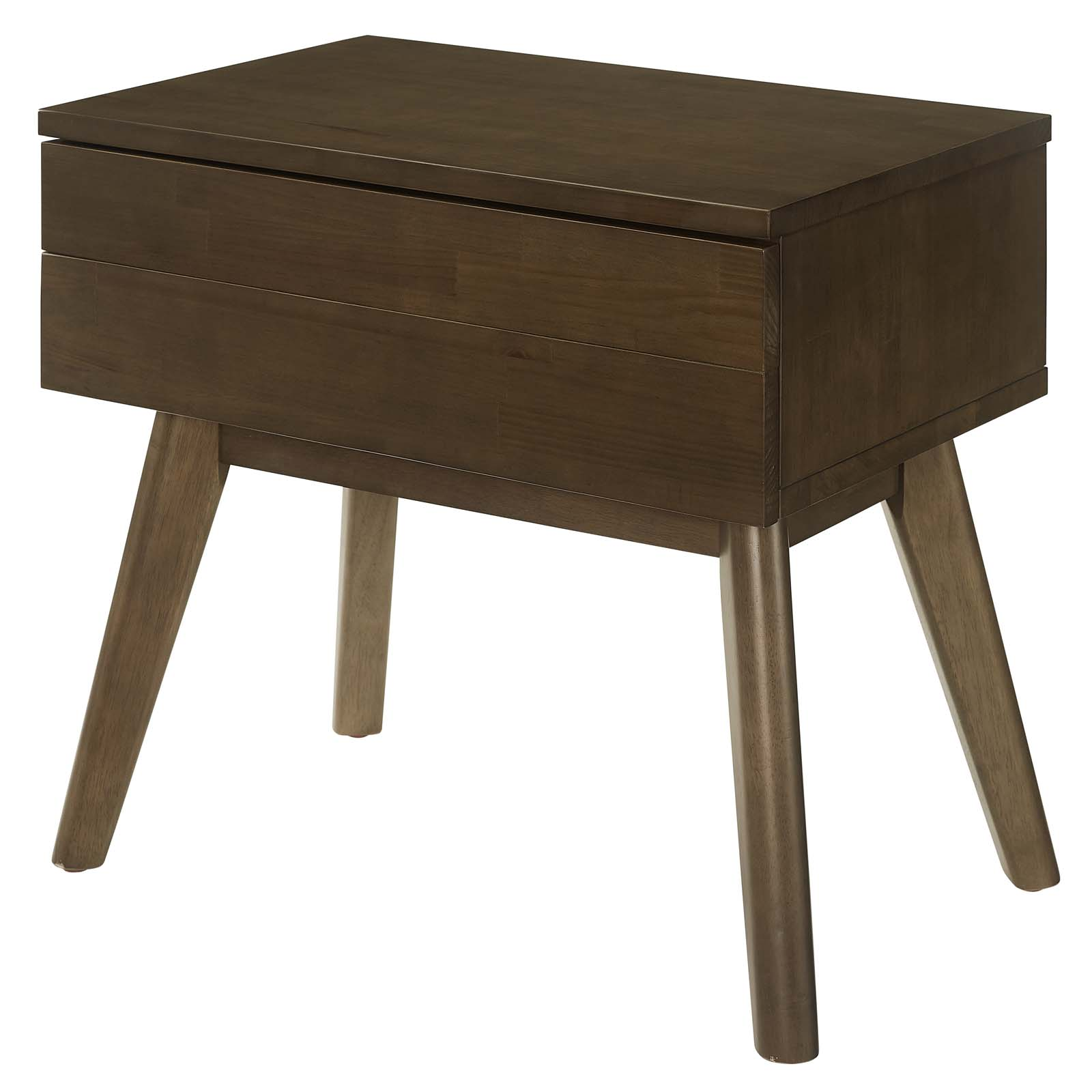Details About Modern Contemporary Bedroom Room Nightstand End Table Natural Wood 15287