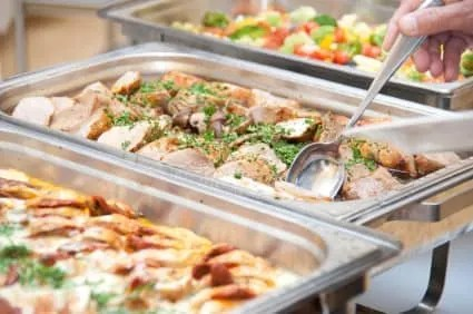 Food catering services quotation request