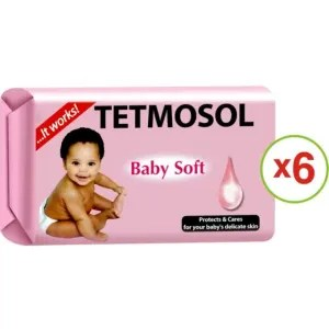 Tetmosol Baby Soft Soap – 75g (Pack Of 6)