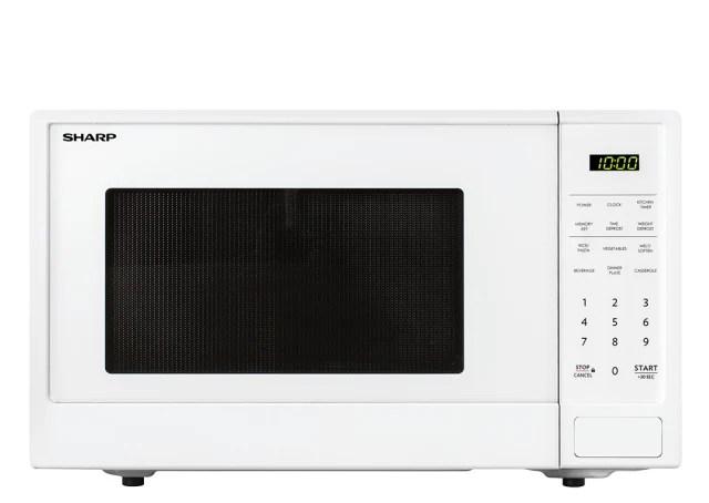 1100w midsize microwave white