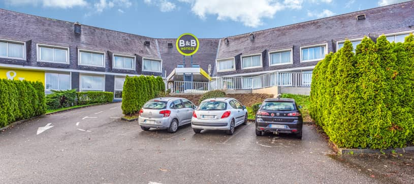 b b hotel quimper south 2 stars hotel