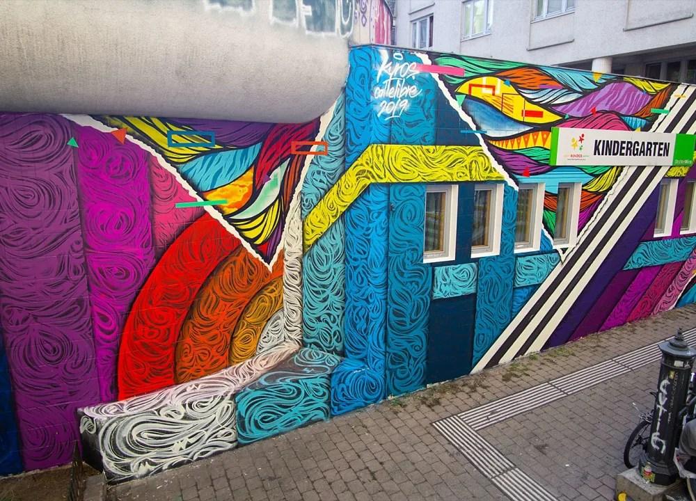 Wien Teil 2 Graffiti Am Donaukanal Travellens At