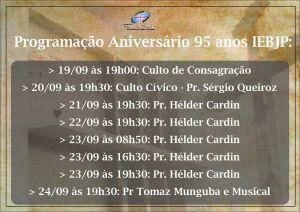 Aniversário da Igreja Evangélica Batista de João Pessoa 8