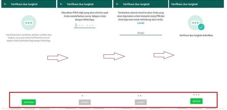 verifikasi dua langkah