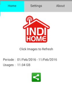 Cek IndiHome Usage Info Apk Dengan Android