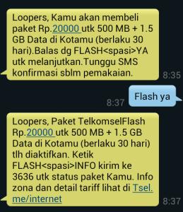Paket Internet Telkomsel Murah 2gb 20k