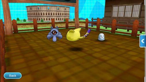 DigimonLinks Garden Fasilitas