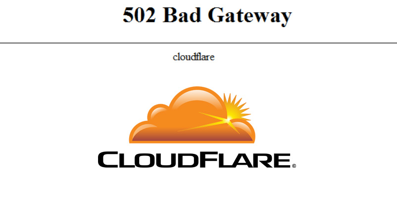 Jutaan Situs Web Down (502 Bad Gateway)