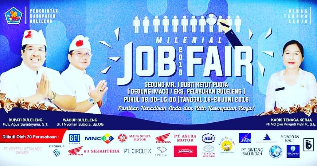 Job Fair Kabupaten Buleleng 2019
