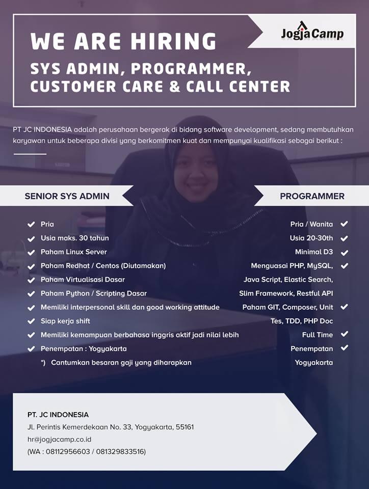 Loker JogjaCamp