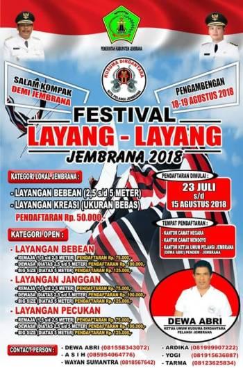 Festival Layang Layang Jembrana 2018