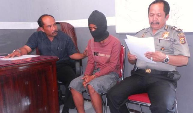 Pelajar Jembrana Ditangkap Hendak Mencuri Rokok