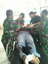 Anggota TNI AD Tewas Tersambar Petir Di Jembrana
