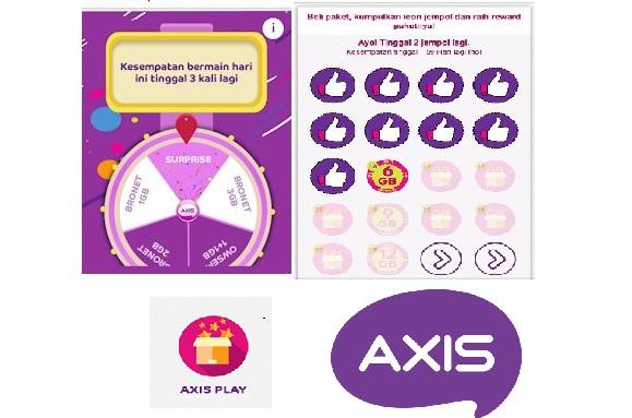 Trik dapat jempol dan cara dapat quota harga 1 rupiah dari Axis Play