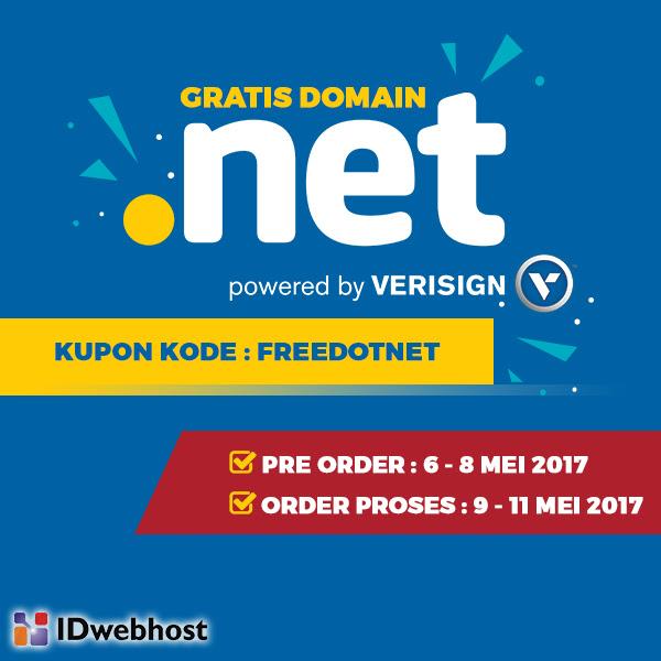 Domain Gratis .NET by IDwebhost