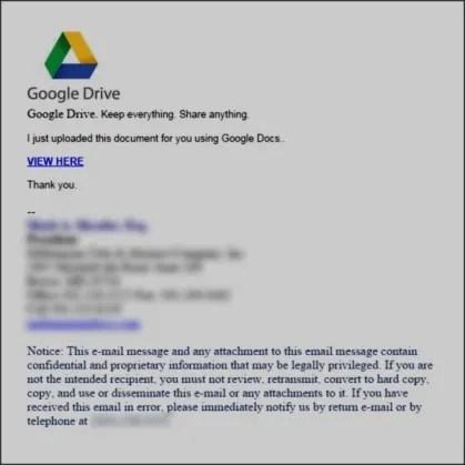 penipuan google drive
