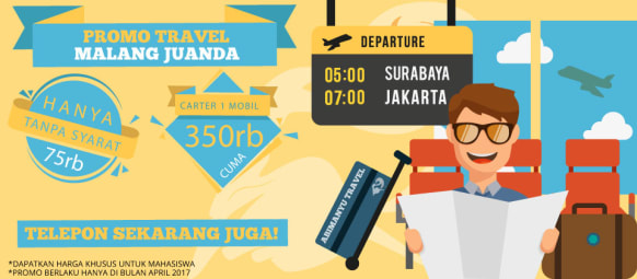 Promo Travel Malang Juanda Abimanyu Travel
