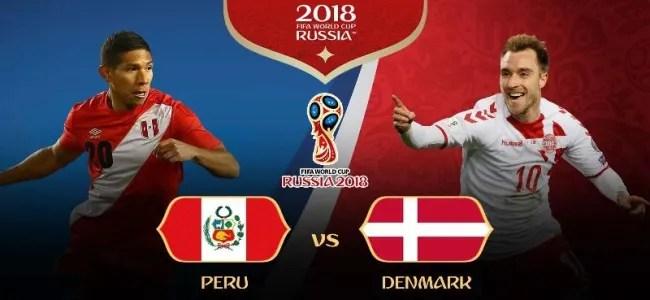 Piala Dunia Online: Peru vs Denmark