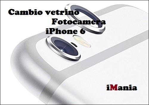 cambio vetrino iphone 6 imania