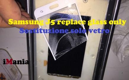 samsung j5 sostituzione vetro imania varese