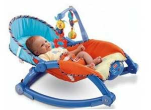 Jouet Newborn-To-Toddler Portable Rocker