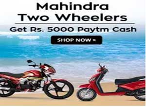 Mahindra Rodeo & Gusto Scooty and Centuro Bike